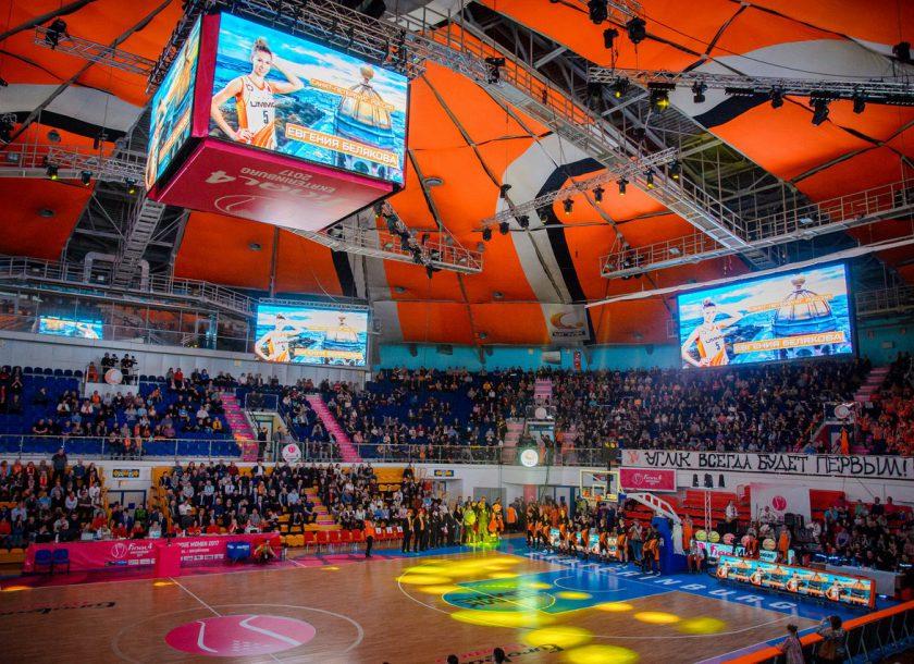 Организация и техническое обеспечение ежесезонных игр баскетбольной команды УГМК(2)